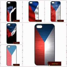 Czech Republic flag Phone Cases Cover For iPhone 4 4S 5 5S 5C SE 6 6S 7 Plus 4.7 5.5   AM1308