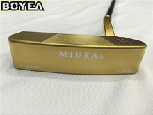 "Brand New Gold Boyea MiURA Putter Golf Putter Golf Clubs 33""/34""/35"" Inch Steel Shaft With Head Cover EMS Shipping"
