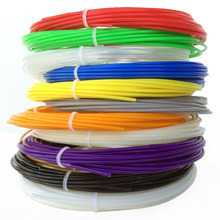3d printing materials PLA plastic filament 1.75mm 20 colors 100m for 3d drawing printer pen