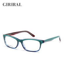 Acetate women eyeglasses frame prescription designer brand clear optical myopia eyewear frame #BC3827(China)