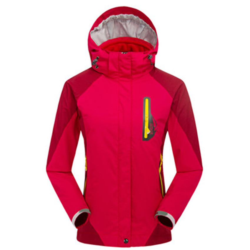 2016 Autumn Female Breathable Waterproof Thin Hooded Sports Winter Jacket Women Coat Windbreaker  Mountaineering Camping<br><br>Aliexpress