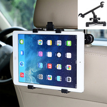 "Universal 7-11"" Soporte Tablet Car Holder For iPad Volvo BMW Audi Benz Chevrolet Hyundai Citroen Toyota Car Headrest Mount Stand(China)"