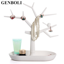 Popular Beauty and Health Jewelry Necklace Ring Earring Tree Stand Display Organizer Holder Show Rack