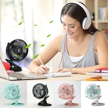 Portable Handheld 360 Adjustable Fast Cooling Air Cooler Mini Desk Clip-On USB Noise-free Fan For Notebook Laptop Computer Power