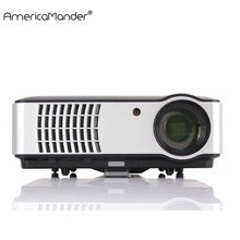 300inch Android System Full HD 1080P 3000lumens 1280*800 Video HDMI USB LED Home Theater TV 3D Projector Beamer Proyector