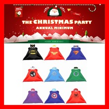 Kids Superhero Capes & Mask Costume Capes For Kids Spiderman Superhero Cape Cosplay for Kids Halloween Birthday Party 70cm*70cm(China)