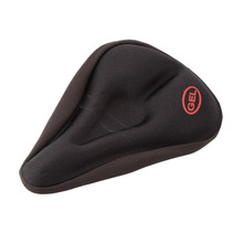 Sponge Bicycle Soft Gel Saddle Seat Cover Cushion Pad Comfortable Brand New Free Shipping