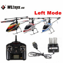 Original WLtoys V911 2.4GHz 4CH Remote Control RC Helicopter with Gyro Mode 2 RTF for Kids Outdoor Flying Toys Gifts Aircraft(China)