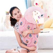 stuffed plush toy large 80cm pink peacock plush toy soft throw pillow Christmas gift b0566
