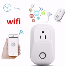 Smart Home EU/UK/US Plug Wifi Cell Phone Wireless Power Socket Remote Control Switch Timer Smart Power Socket Plug Outlet