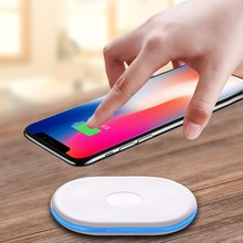Buy Qi Wireless Charger 10W Wireless Charger iPhone 8/8 Plus/X Charging Pad Samsung Galaxy NOTE 8/ S8 Wireless Charger 2017 for $6.39 in AliExpress store