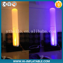 2m inflatable pillar with led inflatable column