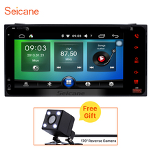 "Seicane 2 Din 7"" Car Radio Android 6.0 GPS Navi Bluetooth for TOYOTA COROLLA Camry Cruiser RAV4 with WIFI SWC Rearview Camera(China)"