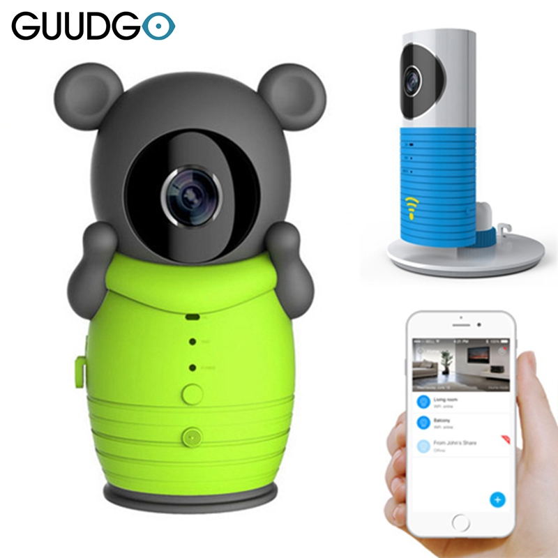 Guudgo Clever Dog DOG-2W 720P Baby Security IP Camera WiFi Wireless Baby Monitor Intelligent Alerts Night Vision for IOS Android<br>