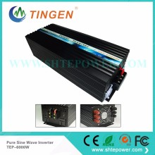 DC 12V to AC 220V pure sine wave power inverter solar invertor 6kw 6000w