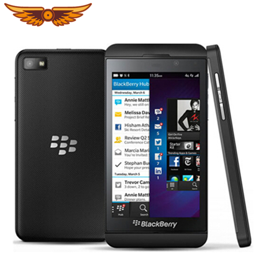 Blackberry Z10 Mobile-Phone NFC 16GB 2gb GSM/WCDMA/LTE 2mp Refurbished Unlocked 3G Original title=