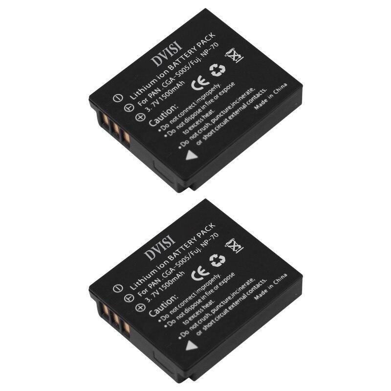 2Pcs/lot 1.5Ah CGA-S005 S005 BCC12 CGA-S005E DMW-BCC12 Battery for Panasonic Lumix DMC-FX180 DMC-LX1 DMC-LX2 LX3 FS1 FS2 FX01<br><br>Aliexpress