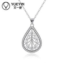 Zircon jewelry silver plated Necklace bridal Necklace set stones Chokers chain Chokers Necklaces Jewelry supplier