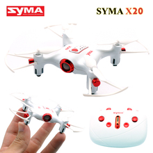 Syma X20 Pocket Mini Drone 2.4G 6 Axis 4CH Quadrocopter Eachine Quadcopter Rc Helicopter Helicoptero de controle remoto Toys(China)