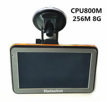 "Hot-sale 5"" Touch Screen Car GPS Navigator 256M/8GB+FM Transmitter+Free latest maps(China)"