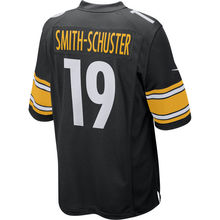 Men's Juju Smith-Schuster Martavis Bryant Pittsburgh Elite And Vapor Untouchable Color Rush Custom Steelers Jersey(China)