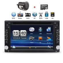 2 din 6.2'' Terracan 2001-2007 car dvd player with GPS touch screen ,steering wheel control,ipod,stereo,radio,usb,BT(China)