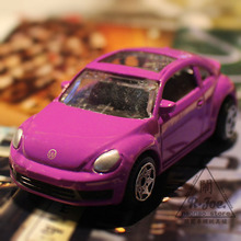 1:64 Alloy car model car series Sports car Volkswagen Beetle purple car Children like the gift Family Collection Decoration(China)