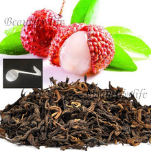 Beautiful Tea strainers+gift Litchi Flavor Puerh Tea,Fruit flavor Loose Leaf Pu'er,Slimming Ripe Pu-erh,CTX814