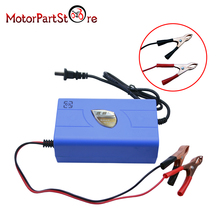 12V 6A Motorcycle Battery Charger Car Boat Marine Maintainer Automatic Power Supply Adaptor #(China)