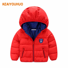 2016 New Winter Children Boys Jackets fashion Girls Winter Coat Kids Outerwear Baby Boys & Girls Down Jacket Hoohed Clothes