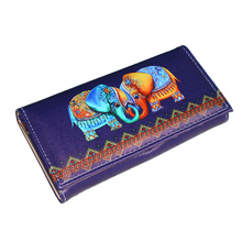 Hot Sale Fashion Women Wallets Lady Handbags Coin Purse Animal Prints Cute Elephant Long Clutch Wallet Cards ID Holder Burse Bag