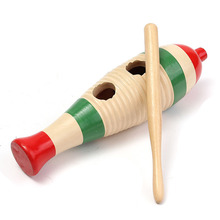 Zebra Orff Percussion Instrument Tambourine Drum Toy Children Music Teaching Toys Woody Xylophone Wooden Knocker(China)
