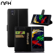 NFH High quality flip leather cover lenovo p70 Wallet Style case for Lenovo p 70 P70 cell phone case Wholesale retail