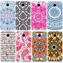 2016 Fresh Flower Painted Pattern Phone Case For Meizu M3 Note M2 Note M3S M3 M2 mini Pro 6 U10 U20 TPU Cover Cases Fundas Shell
