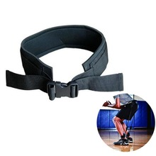 Adjustable Padded Jump Training Belt Resistance Band Waist Strap Trainer Leg Strength Bounce Speed Exercise Fitness Equipment