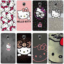 222GH Hello Kitty Fashion Hard Transparent Cover Case for Oneplus 3 3T