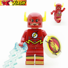 Single Sale TV Show Flash Barry Allen Super Heroes Justice League Batman Joker minifig XINH074 Building Blocks Kids Toys Gifts(China)