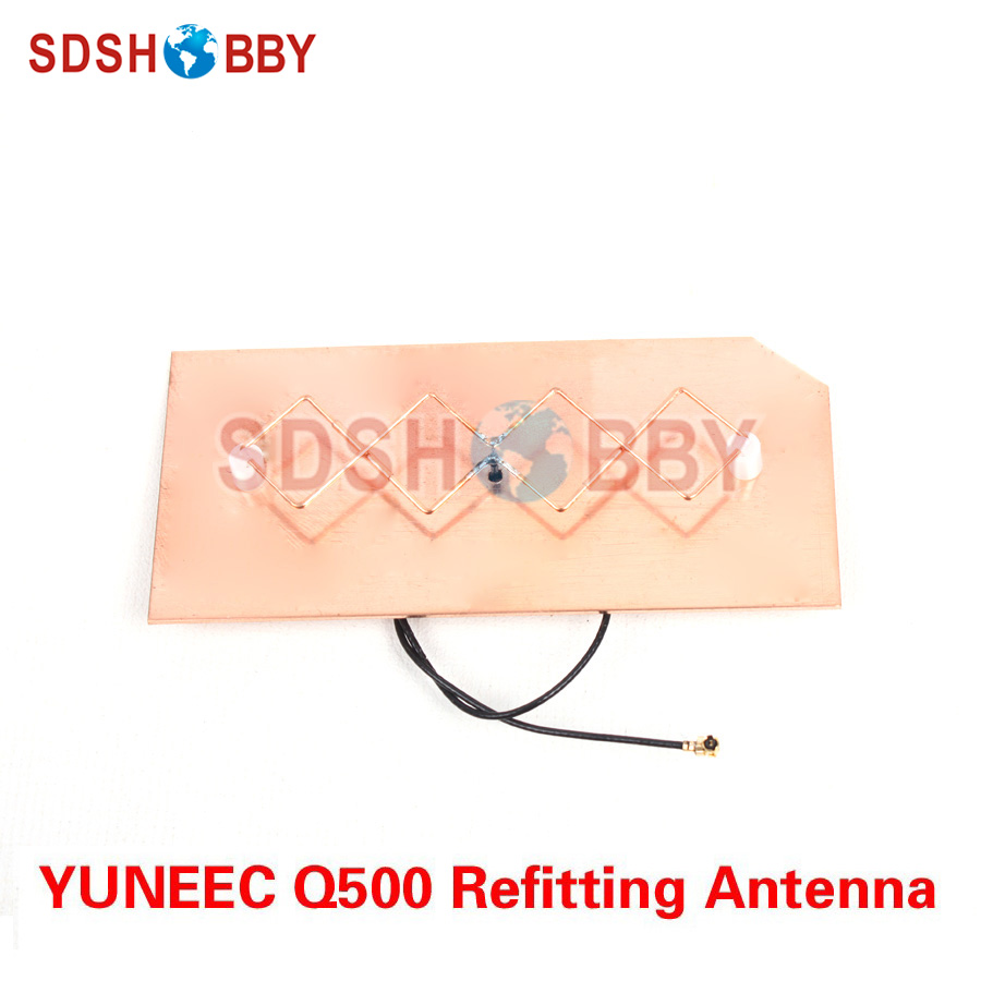 YUNEEC Q500 Refitting Antenna Extended Range DIY 5.8G Panel Antenna for YUNEEC Q500 Remote Controller<br>
