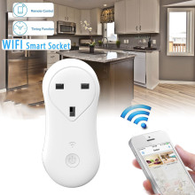 Hillsionly New Timer switch Wireless Remote Control Timer Timing WiFi Smart Power Socket Outlet UK Plug Smart Home LIfe