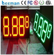 leeman led price screen,led gas price sign,led 7 segments digit number sign single led price
