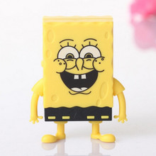 Free Shipping Spongebob Squarepants Cartoon Mini Digital Music TF Download Free Music MP3 Player With Micro TF/SD Card Slot