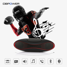 DBPOWER Wireless Bluetooth Speaker Portable Mini Rugby Football Speakers Bass Stereo Speaker With Mic For Mobile Phone PC