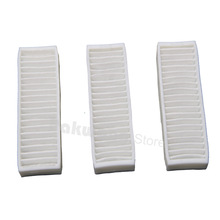 Original D5501 HEPA Filter 3 pcs Robot vacuum cleaner Parts  supply from the factory
