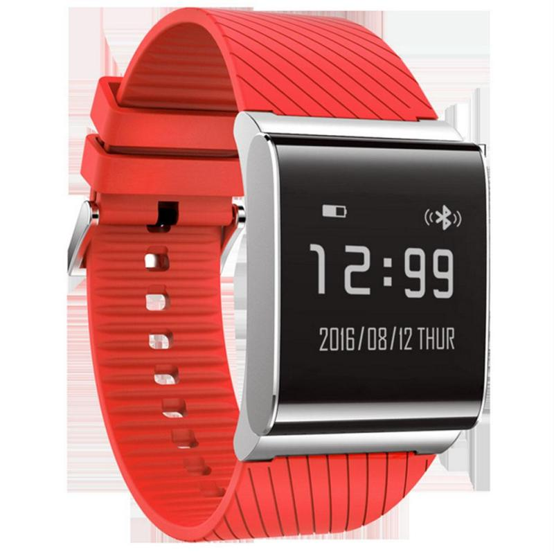 Silicone Watchband Smart Watches Women Men Blood Pressure Heart Rate Monitor Wrist Watches Waterproof Sport Hours Clock Relogio<br>