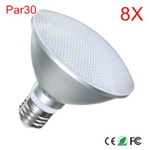 8PCS Super Bright 12W PAR20 Spotlight E27/B22/E26 LED Spot light AC110V-220V Cool White/Natural White/Warm White Ceiling Lamp(China)