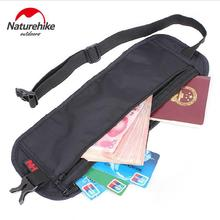 Naturehike Outdoor Travel Invisible Waist Bag Belt Light Personal Travel Document Mobile Phone Theft Stealth Wallet NH15Y005-B