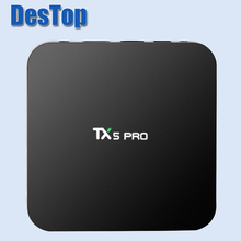3PCS Best TX5 Pro Amlogic S905X Android 6.0 TV Box Quad Core 2GB RAM 16GB 4K HDMI H.265 Smart TV Set Top Box Media Player(China)