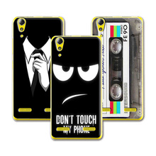 New Arrived Dark Mens Style Design Case For Lenovo A 6010 A6010 Case Cover For Lenovo A6010+ Free Stylus Gift