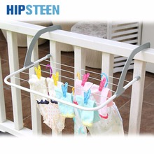 HIPSTEEN Multifunction Hangers For Clothes  Indoor & Outdoor Folding Clothes Rack Drying Laundry Hanger Dryer - White