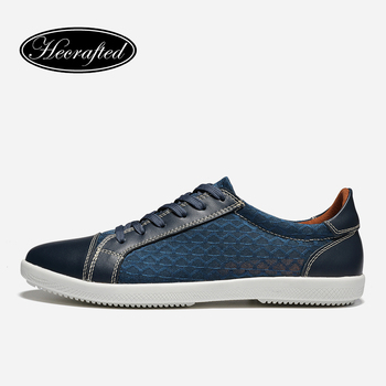Taille 38 ~ 48 Hommes Casual Chaussures Vache split En Cuir Respirant Mode Hommes Chaussures # DD168